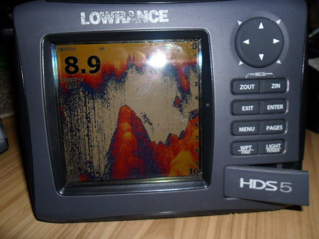 Sonar Lowrance HDS 5x gen2