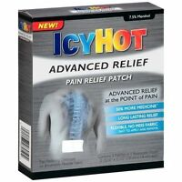 2 Pack - Icy Hot Advanced Pain Relief Patch 4 Each on sale