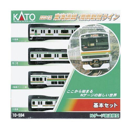 KATO 10-594 Series E231 Tokaido/Shonan-Shinjuku Line Basic 4-Car Set Model Train