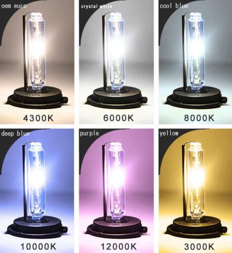 AC 35W HID Xenon Bulbs  H1 H3 H4 H7 H10 H11 H13 9005 9006 9007 880 5202 1 Pair