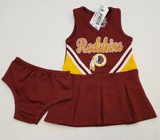 Fan Apparel & Souvenirs New Washington Redskins Infant Toddler Girls Cheerleader Outfit Size 12M to 4T