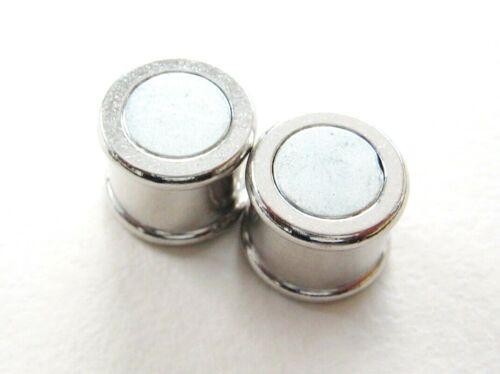 Magnetverschluß Kettenverschluß 12x19mm für Bänder 10mm 1//10 Stück SERAJOSY