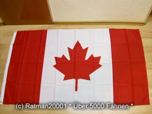 90 x 150 cm Fahnen Flagge Kanada Canada