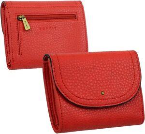 ESPRIT-Damen-Geldboerse-Brieftasche-Geldbeutel-Portemonnaie-Rot-Geldtasche-NEU