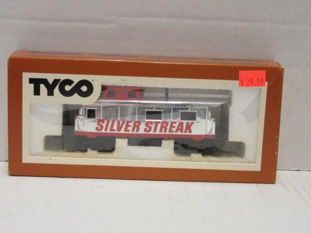 TYCO Caboose Silver Streak HO H0 Model Train Car