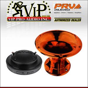 "PRV Audio D3220Ph Phenolic Compression Driver 2/"" WGP14-50 Black Horn 8 ohm"
