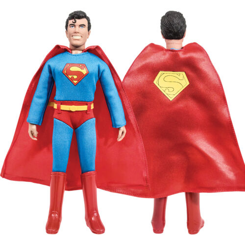 DC Comics Superman Retro Style Action Figures Series 3 Set of all 4 by FTC