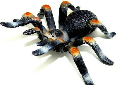Realistic Beautifully Detailed Hand Painted Brown Tarantula PVC Figure