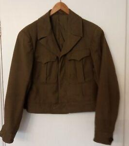 WWII US ARMY IKE JACKET 6th ARMY TECH 5 STRIPES