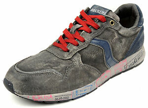 DOCKERS-Herren-Schnuerer-Sneaker-KOMPLETT-LEDER-Einlagen-geeignet-grau
