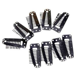 20pcs-Teeth-Snap-Comb-Wig-Clips-with-Rubber-for-Hair-Extension-Black-3-6CM