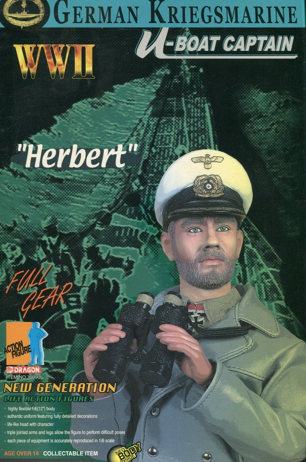 WW 2 German Navy U-boat Captain Herbert