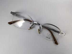 Vintage-mode Vu Par Idc Brille V076-004 De Luxe Eyeglasses Crazy Vintage 90s Eye Frame Gafas Kleidung & Accessoires