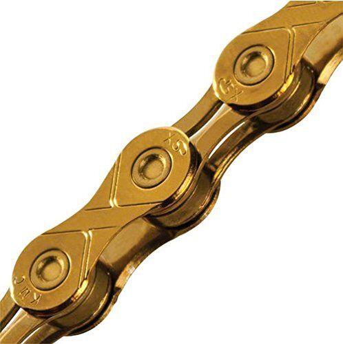 KMC X11SL 11 velocidad 116L Bicicleta Cadena  de oro de titanio  ¡no ser extrañado!