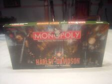 HARLEY DAVIDSON Authorized Edition Monopoly Board Game 8 Pewter Tokens Incomplet