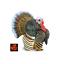 La Turquie ferme avicole Jouet Modèle par SAFARI LTD 242929 nouveau avec étiquette *