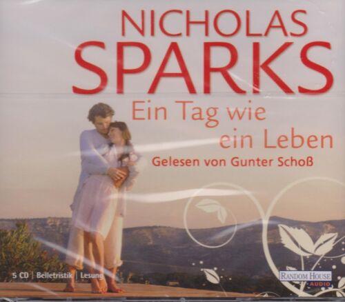 1 von 1 - Hörbuch Nicholas Sparks Ein Tag wie ein Leben (Gelesen von Gunter Schoß) OVP