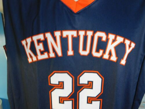 Kentucky #22 Alleson Athletic Basketball Jersey Sz Large NWOT