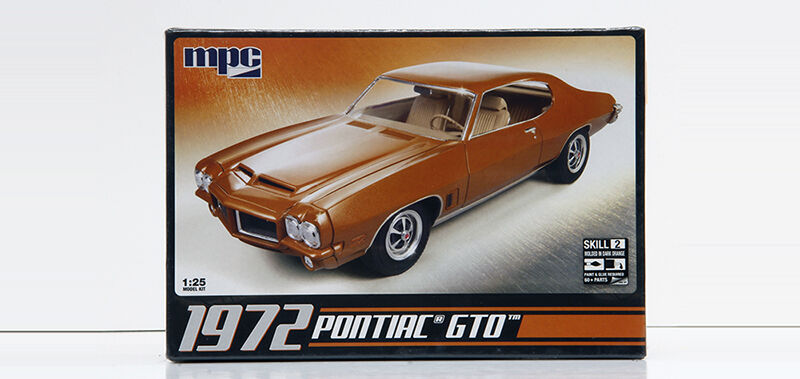 MPC 1 25 1972 Pontiac GTO MPC Boxart MODEL KIT NEW IN THE BOX