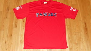 best authentic 96448 936a6 Details about WILL MIDDLEBROOKS PAWTUCKET RED SOX #16 PAWSOX Promo AAA Team  Replica JERSEY XL