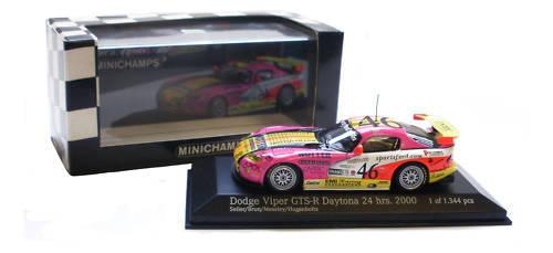 Minichamps DODGE VIPER GTS-R   46 Daytona 24h 2000-scala 1 43