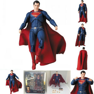 Mafex-057-DC-Comics-Justice-League-Superman-PVC-Action-Figure-Toy-Box-Packed