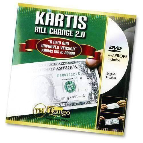 Kartis bill change  2.0 by Kartis by Tango Magic  omaggi allo stadio