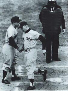 MICKEY MANTLE YOGI BERRA 1960 WORLD SERIES NEW YORK YANKEES 8 X 10 PHOTO 2
