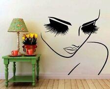 Lady Girl Frau Augen Love Wimpern Wandtattoo Wallpaper Wand Schmuck 56 cm