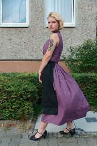 Bien éDuqué Trachten Dirndl Kleid Rowe Tyrol 40 Wiesn Oktoberfest 60er True Vintage 60s Lila Laissons Nos Produits Aller Au Monde