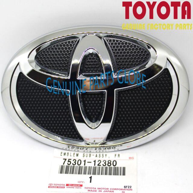 Automotive Emblems Genuine Toyota Accessories 75301-02010 Toyota Logo Grille Emblem