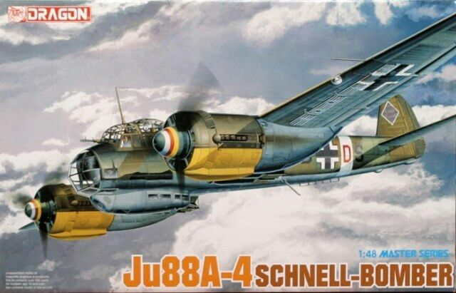 JUNKERS Ju-88A-4 Schnell-Bomber DRAGON 1 48 PLASTIC KIT