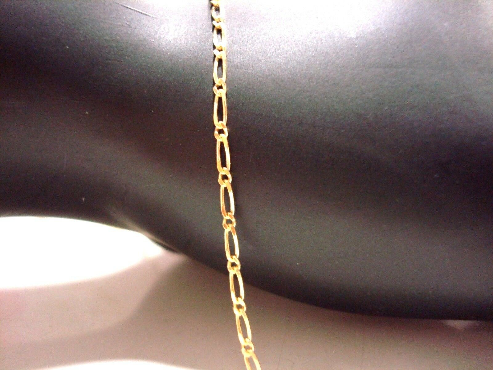 Chain Ankle Yellow gold 9 Carat 375 000 Mesh Horse