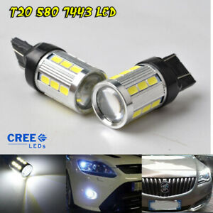 T20-LED-7443-W21-5W-Light-DRL-Sidelight-Bulb-for-OPEL-VAUXHALL-Insignia-CORSA-D
