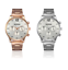 Migeer-Mens-Pilot-Military-40mm-Stainless-Steel-Quartz-Sport-Watch-Gold-amp-Silver thumbnail 1