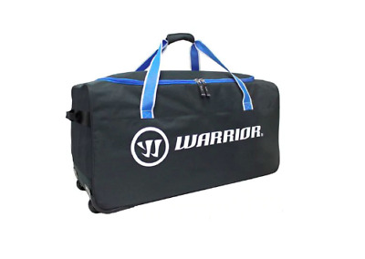 New Warrior W20 Wheeled Ice Hockey Player Equipment Bag 34 Large Pocket Black Ebay