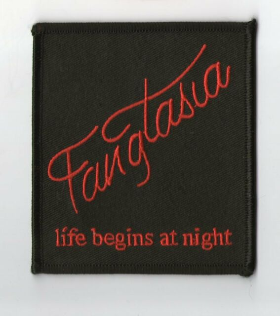 PARCHE TRUE BLOOD FANGTASIA LIFE BEGINS AT NIGHT  PATCH