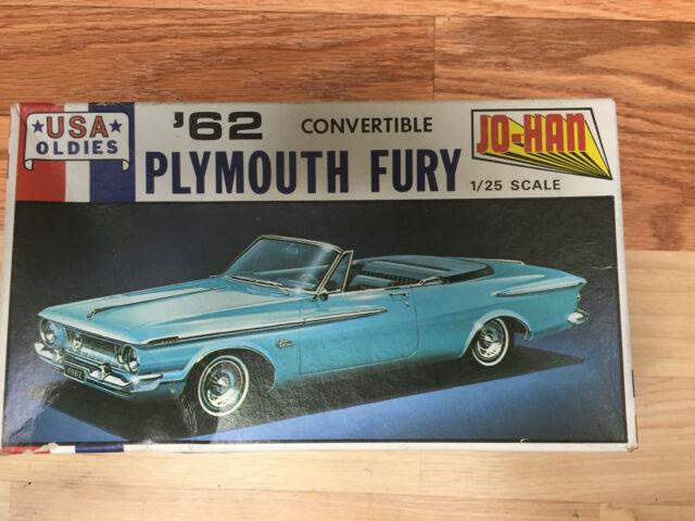 Johan 1/25 1962 Plymouth Fury Convertible