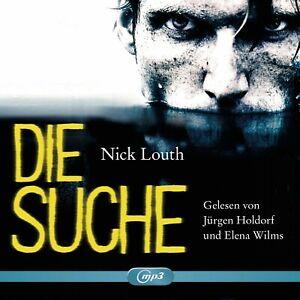 JURGEN-WILMS-ELENA-HOLDORF-NICK-LOUTH-DIE-SUCHE-MP3-2-CD-ROM-NEW