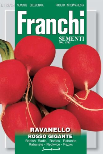 FRANCHI SEMENTI DI ITALIA-RAVANELLI-MULO GIGANTE-Semi
