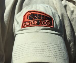 2008-Olympic-Track-amp-Field-Trials-Baseball-Hat-Eugene-Oregon-Dad-Cap