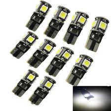10X LED 5 SMD W5W Auto Birne CANBUS Standlicht Birne T10 Lampe XENON WEISS