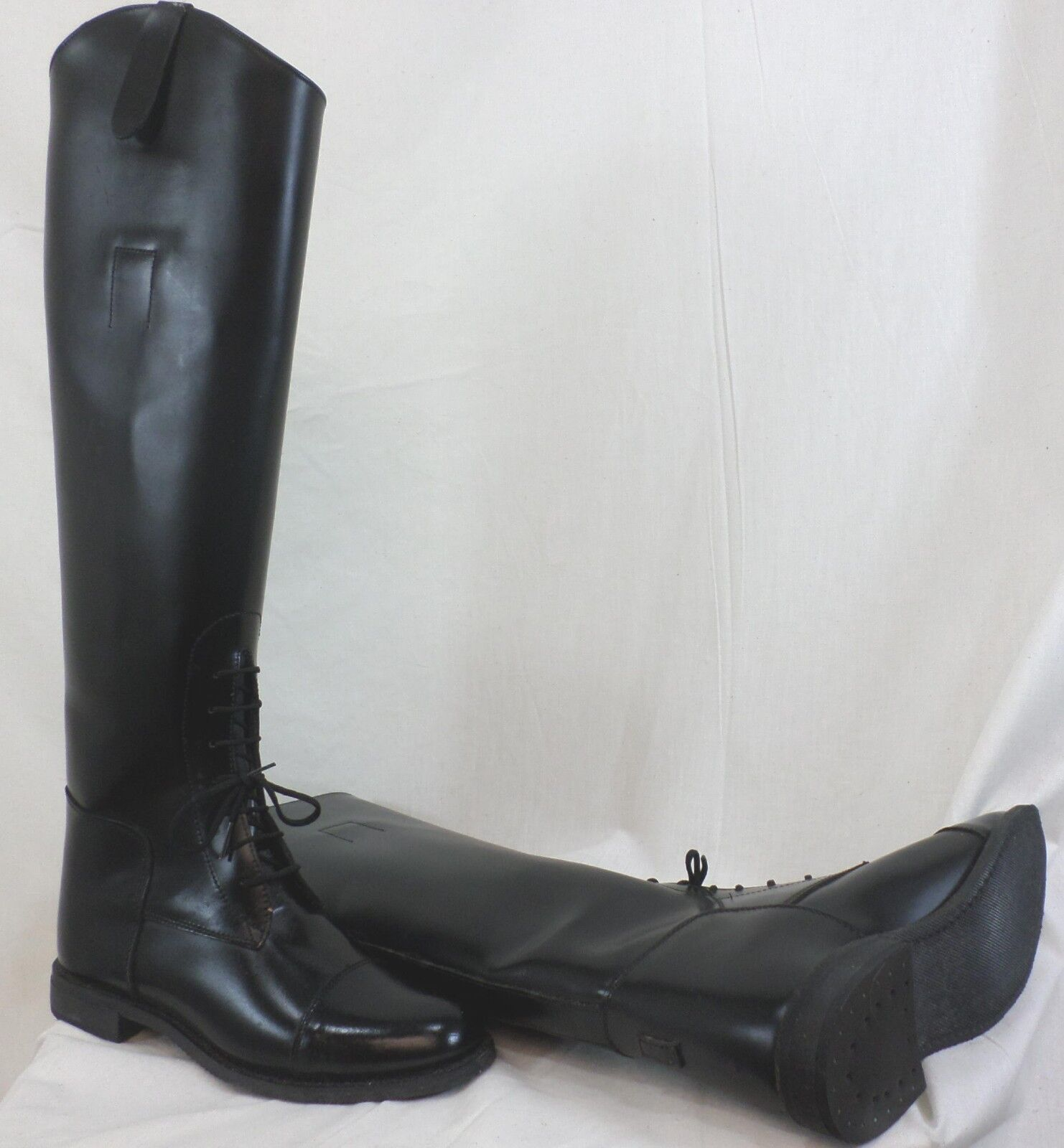 Reed Hill Ladies Black Leather Field Boot 7c - Made in USA