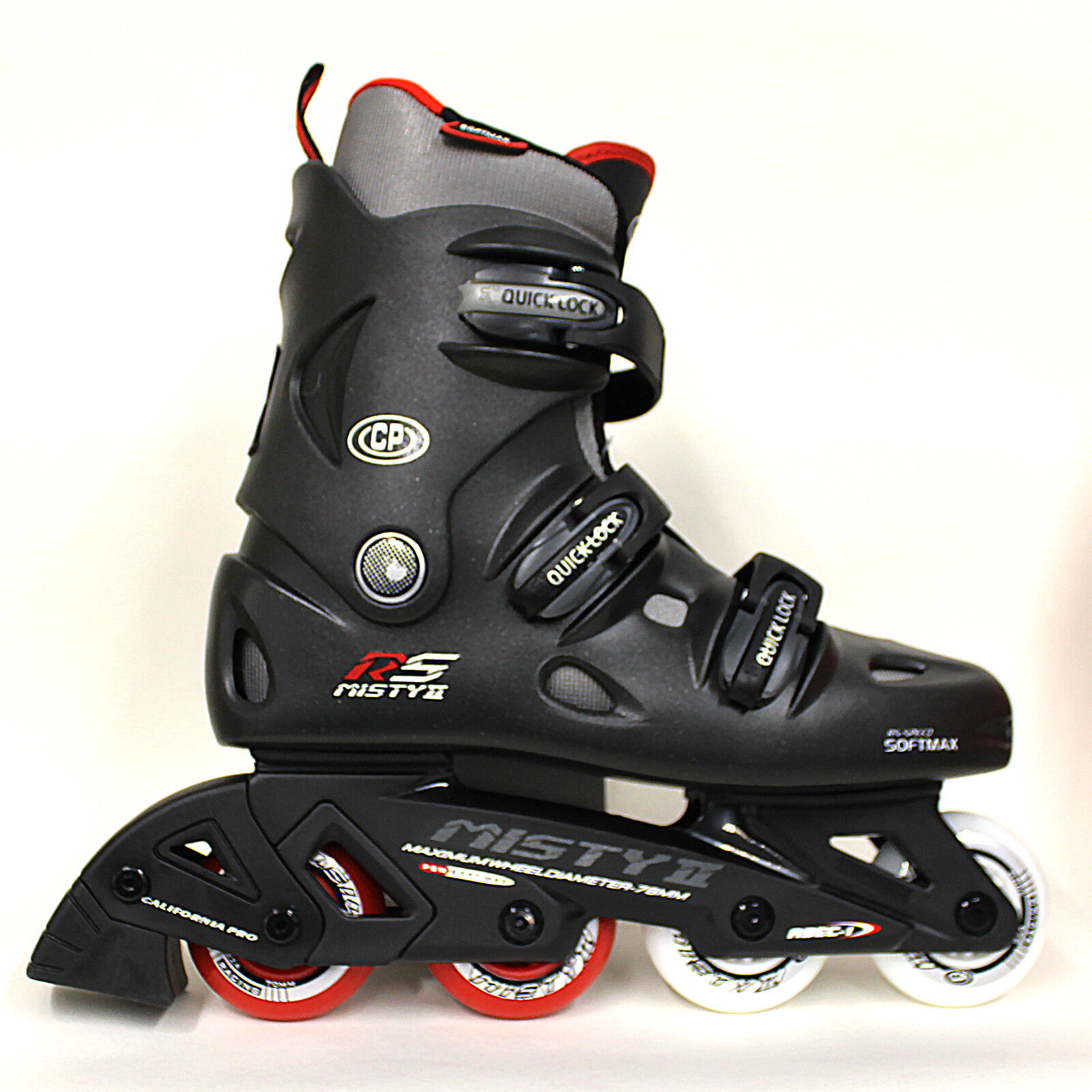 ✅24Hr DELIVERY California Pro  Misty II Kids & Adult Inline Roller S s Blades  big savings