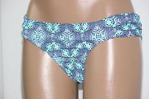 NEW-Jessica-Simpson-Marine-Desert-Diamond-Ruched-Side-Hipster-Bikini-Bottom-L