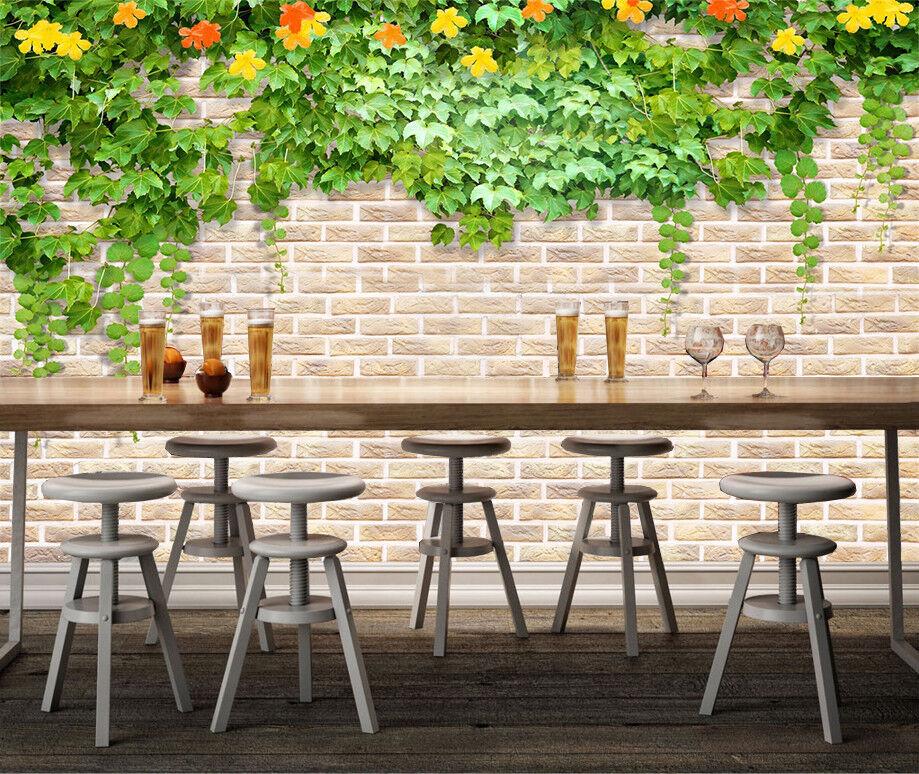 3D 3D 3D Grüne Blätter Wand 8883 Tapete Wandgemälde Tapeten Bild Familie DE Jenny   Hohe Qualität Und Geringen Overhead    Reparieren    Ausgezeichnet  ccf57f