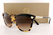 24942ca9c4 Versace Ve 4313 5177 13 Black Havana Frame Brown Shaded Lens Sunglasses 57