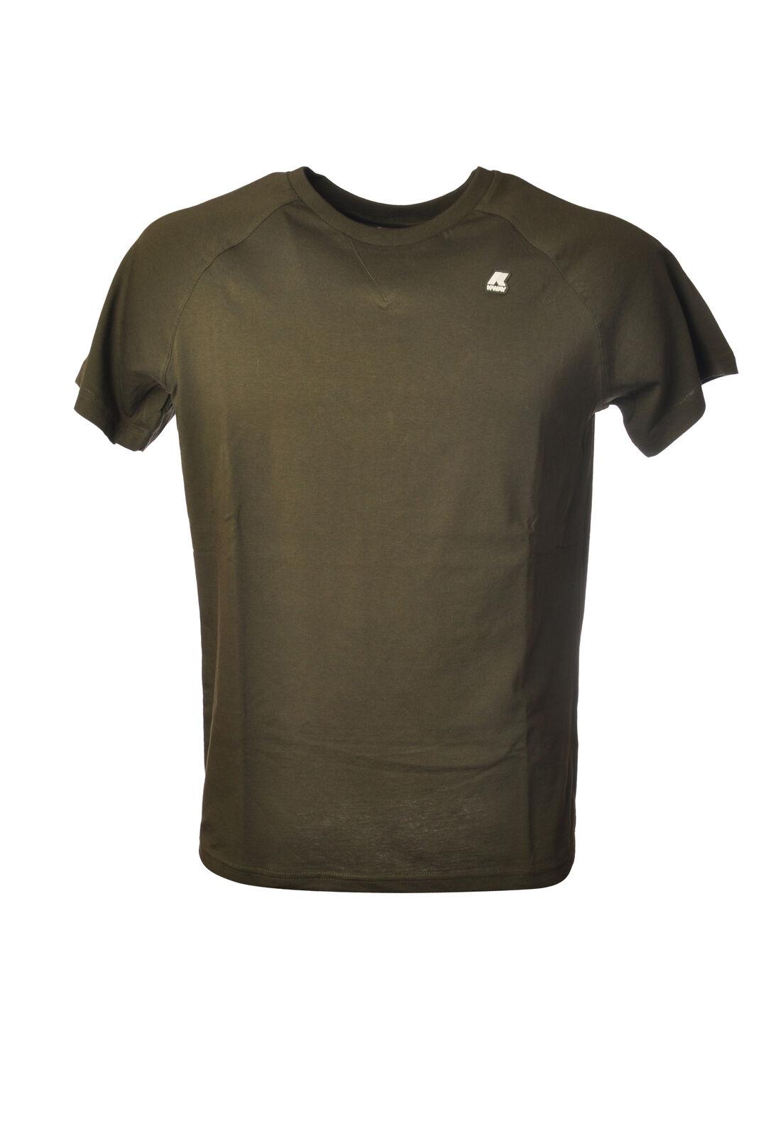 K-Way - Topwear-T-shirts - Man - Grün - 6369421F191343
