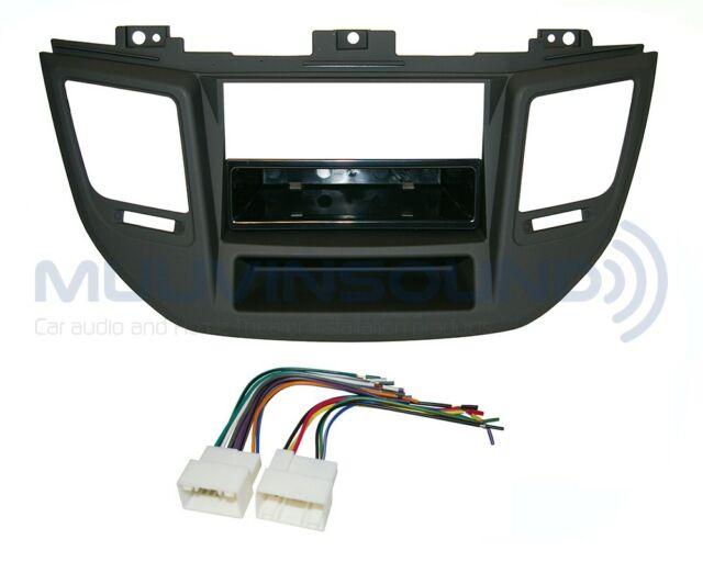 Radio Stereo Mounting Installation Dash Kit Single Din