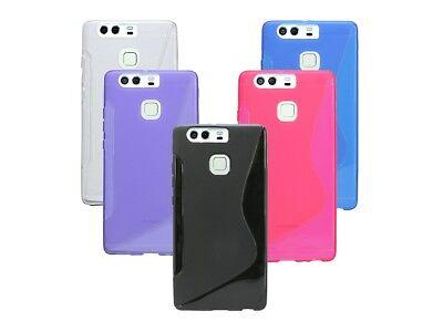 Cell Phone Accessories Tireless Silikon Schutz Zubehör Hülle Huawai Gummihülle Für Huawei P9 Schutzfolie